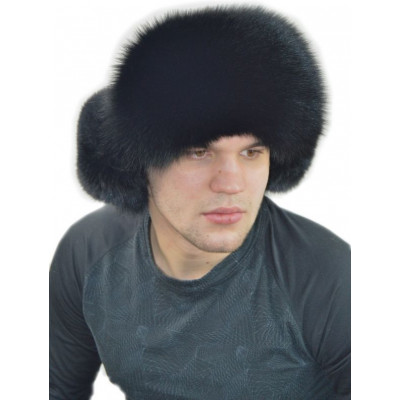 Мужская шапка из песца ПМ-015
