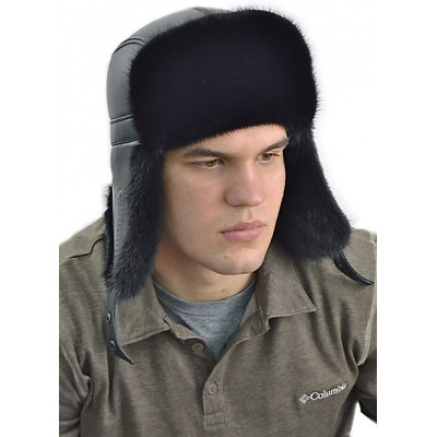 Мужская норковая шапка ШН 025