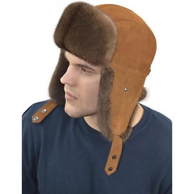 Мужская норковая шапка ШН 024