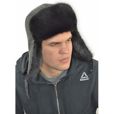 Мужская ондатровая шапка ВК 035