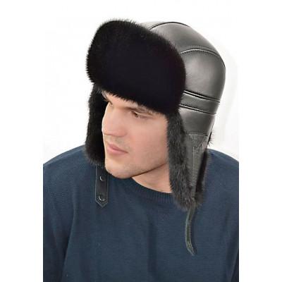 Мужской головной убор из норки ШН 023