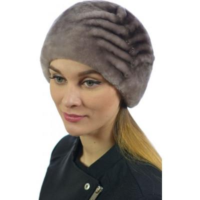 Женская шапка из мутона Б-077