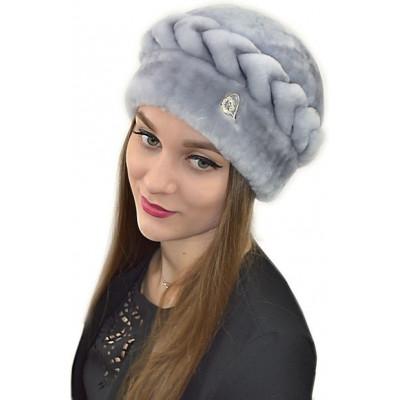Женская меховая шапка Б-073