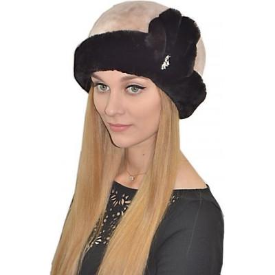 Женская шапка из мутона БМ 057