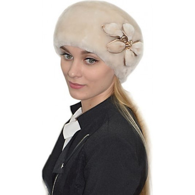 Женская шапка из мутона БМ 076