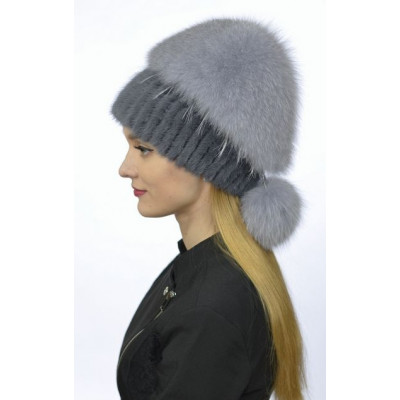 Зимняя женская шапка НТ 012