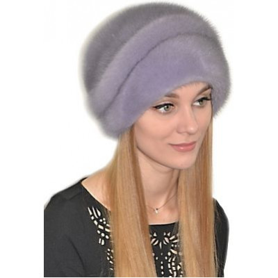 Норковая зимняя шапка НН 014
