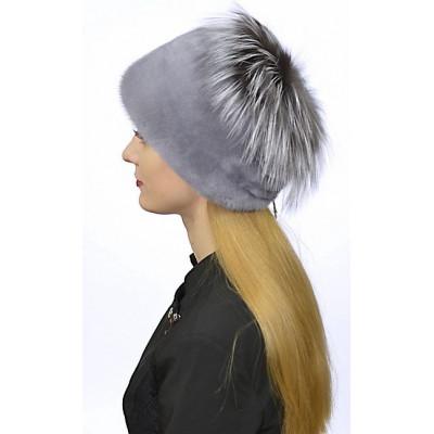 Норковая шапка НН 032