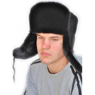 Мужская шапка из норки ШМ 034