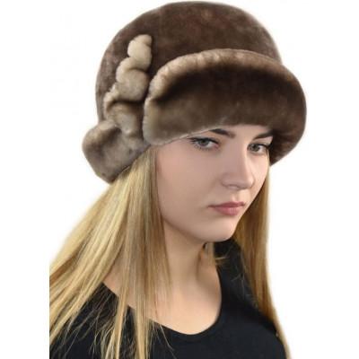 Шапка шляпа из мутона Б-076