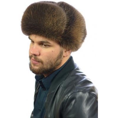 Мужская шапка из бобра ВК-084