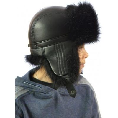 Детская меховая шапка ДМ-006