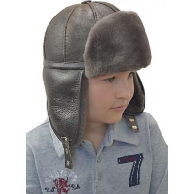 Зимняя шапка для мальчика ДМ-021