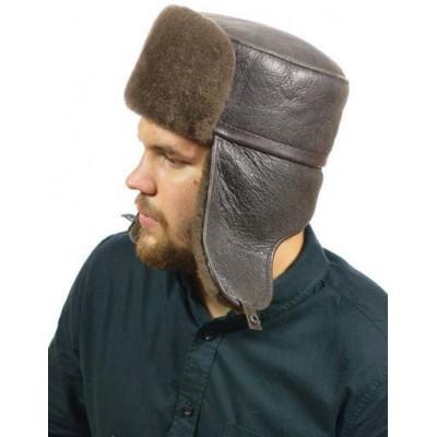 Мужская шапка ушанка ВК-038а