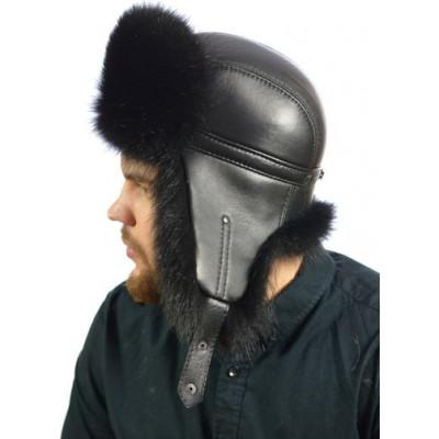 Мужская шапка из енота НЕ 030