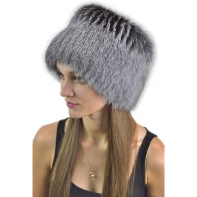 Женская шапка из лисы КА 021