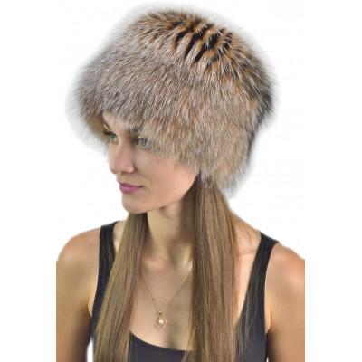Зимняя женская шапка из лисы КА 021а