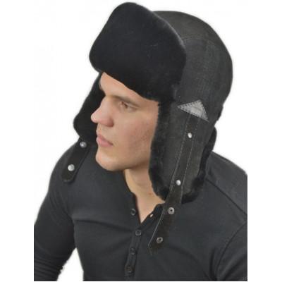 Мужская шапка из мутона ВК 067