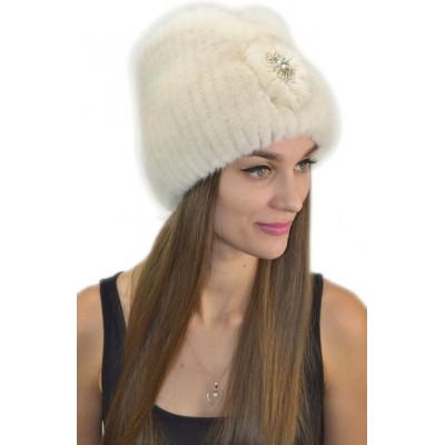 Женская шапка из норки НВ-075в