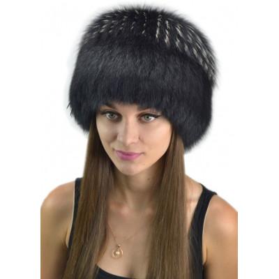 Женская шапка из песца КА 013