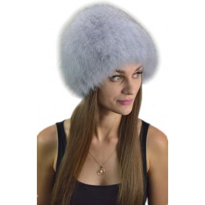 Женская шапка из песца МТ-046в