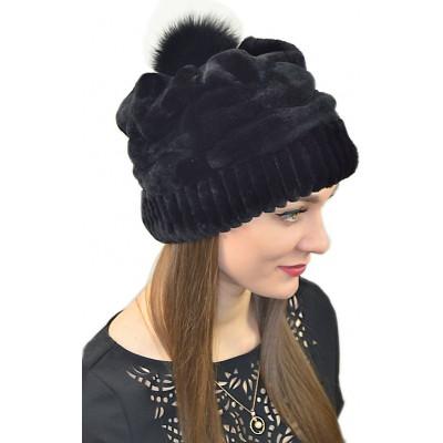 Модная шапка БК 019