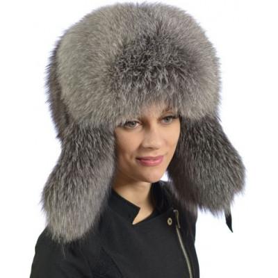 Женская меховая шапка КА 004