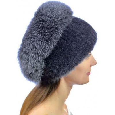 Женская норковая шапка НВ 037д