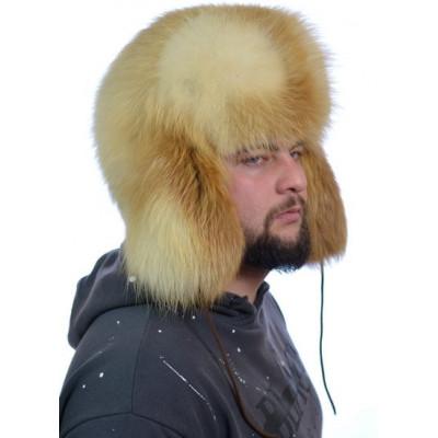 Мужская шапка из лисы ПМ-002