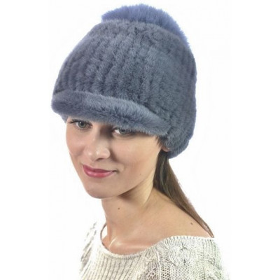 Женская норковая шапка НВ-107