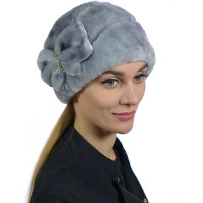Женская меховая шапка БМ 076в