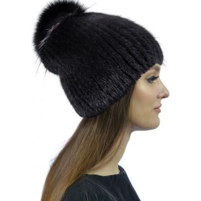 Меховая норковая шапка НН-54