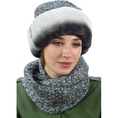 Комплект шапка и снуд ТМ-012