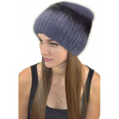 Женская меховая шапка НВ-039а
