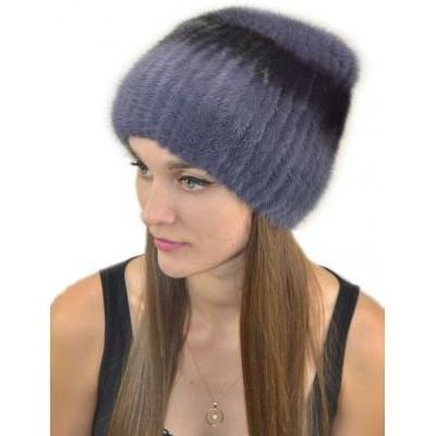 Женская меховая шапка НВ-039б
