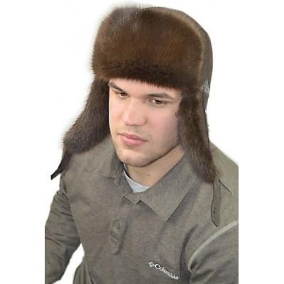 Мужская ондатровая шапка ВК 077