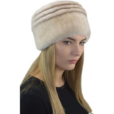 Женская шапка из мутона БМ 099