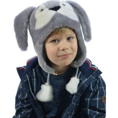 Детская шапка из мутона ДМ-010