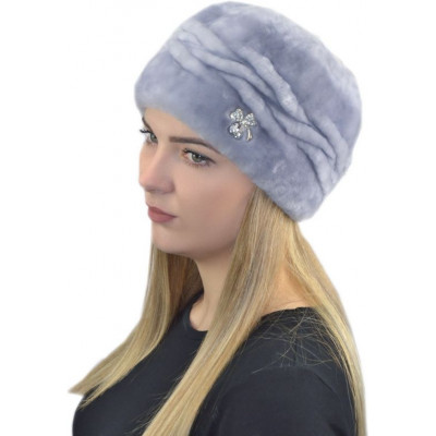 Женская шапка из мутона БМ 115