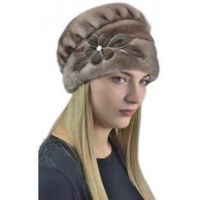 Женская мутоновая шапка Б-075