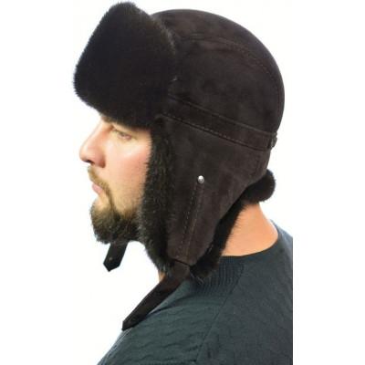 Мужская норковая шапка ШН 024а