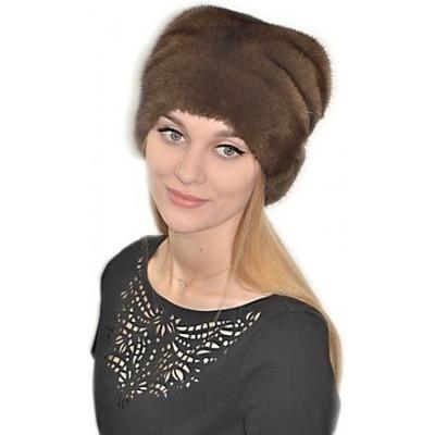 Модная норковая шапка НН 012