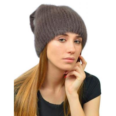Норковая зимняя шапка НВ-111