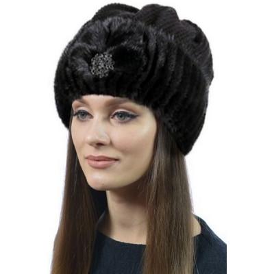Меховая ондатровая шапка НН-37