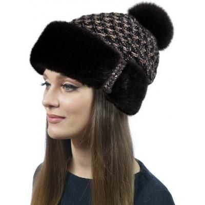 Меховая норковая шапка НН 006