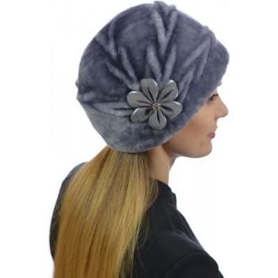 Женская шапка из мутона БМ 112