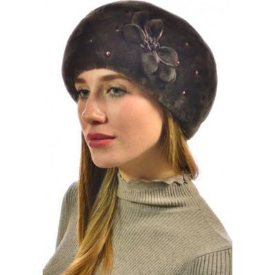 Женская шапка из мутона БМ 064в