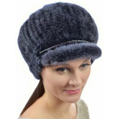 Женская норковая шапка НВ-108