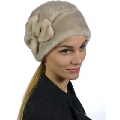 Женская меховая шапка БМ 111
