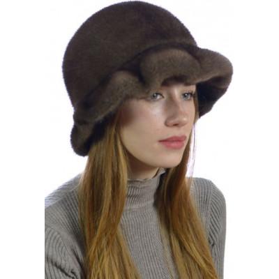 Норковая шляпка НН-071а